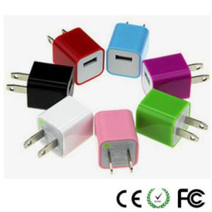 5V 1A Colorfull USB Mobile Phone Charger for Apple iPhone pictures & photos