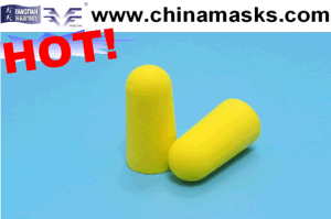 Soundproof Safety High Quality Disposable PU Earplug pictures & photos
