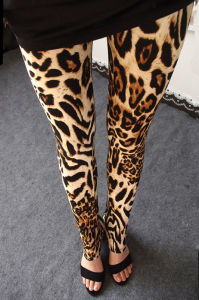 Best Price Plus Size Leopard Printed Fitness Sexy Women Leggings pictures & photos