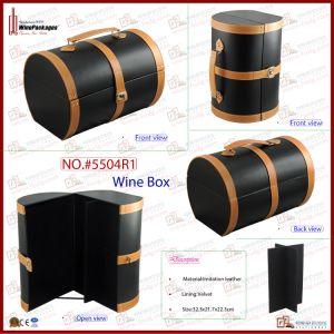 Retro Design 6 Bottle Wine Suitcase (5504R9) pictures & photos
