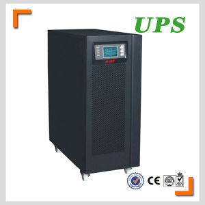 15kVA 12kw Online UPS RS232 Port Tower Type 3pH Input pictures & photos