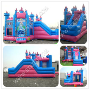 PVC Princess Csatle Inflatable Jumper Castle Inflatable Bouner for Kids Play with Slide B2217 pictures & photos