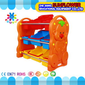 Toy Rack, Toy Storage Rack, Toy Shelf with Plastic Box pictures & photos