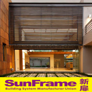 Aluminium Blinds for Curtain Wall in Villa pictures & photos