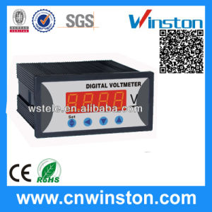 Single Phase DC Digital Voltmeter, Aux. Power Supply with CE pictures & photos