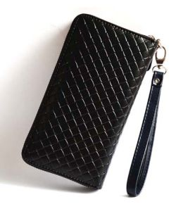 High Quality Women Wallet Weave Purse (XQ0560) pictures & photos