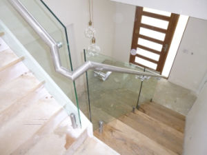 Modern Stainless Steel Tempered Glass Railing Design pictures & photos