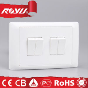 4 Gang CE Approved 40000 Times Use Electric Switch pictures & photos