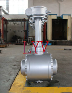 Forged Worm Gear Welded End Industrial Ball Valve