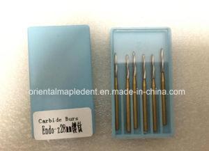 Dental Titanium Plated Endo-Z Carbide Burs pictures & photos