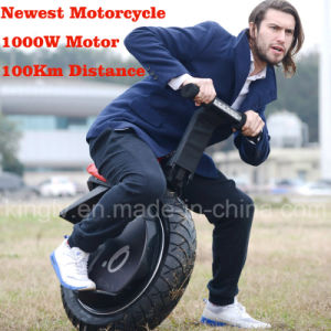1000W60V One Wheel Electric Motorcycle Mobility Scooter pictures & photos