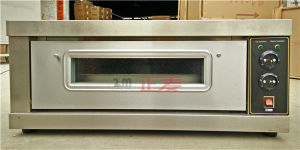 Luxury Electric Single Bakery Pizza Commercial Deck Baking Oven (ZBB-101D) pictures & photos