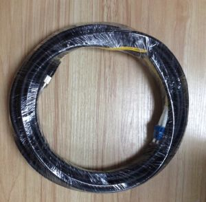 FC-LC Singlemode Fiber Optic Jumper with Outside Plant Duplex Cable pictures & photos