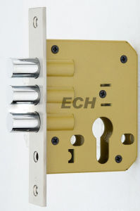 China Manufacturer Three Bar Zinc Alloy Mortise Lock Body (ESD-013) pictures & photos