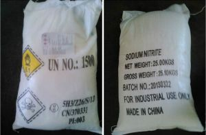 Sodium Nitrite /Nano2 CAS: 7632-00-0 99%Min pictures & photos