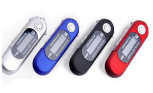 New Generation AAA Battery MP3 Player pictures & photos