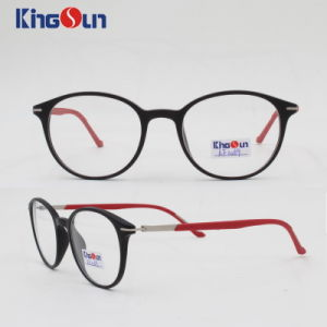 Tr90 Frame with Metal Mix Rubber Temple Optical pictures & photos