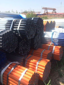 Scaffold Tube with Galvanized and Painted Surface Finish pictures & photos