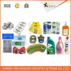 Customized Waterproof Transparent PVC Paper Epoxy Adhesive Label Printing Sticker pictures & photos