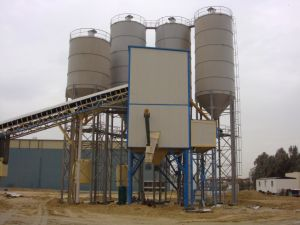 Hzs150 Concrete Batching Plant/Concrete Mixing Plant pictures & photos