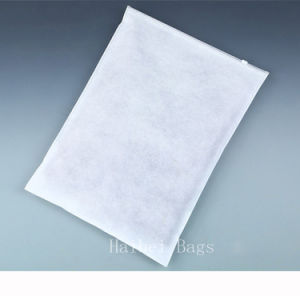 Transparent CPP Non-Woven Garment Packaging Bag, Zipper Packing Bag pictures & photos