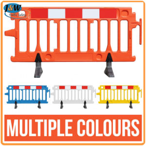 Traffic Control Barrier Fence, Plastic Road Block Barricade pictures & photos