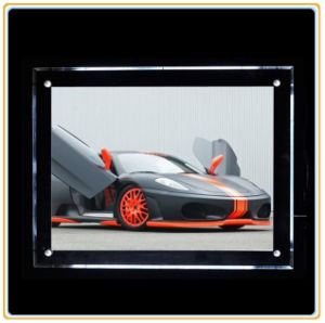 A2 Ultra-Thin Crystal Wall Light Pockets/LED Light Box pictures & photos