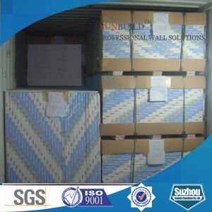 Plasterboard Gypsum Board (regular, fireproof, waterproof) pictures & photos