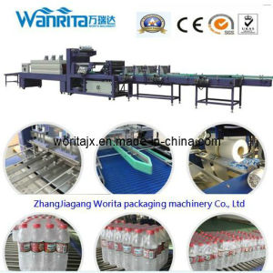 Two-Pushing Automatic PE Film Wrapping Machine (WD-350B) pictures & photos