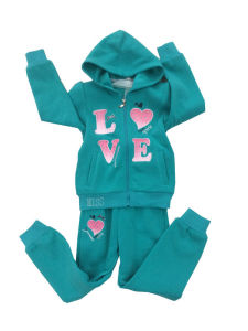 Winter Fleece Kids Girl Sports Wear Suit in Children ′s Clothing Swg-136 pictures & photos