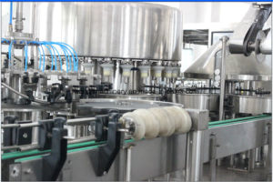 HDPE Bottle Juice Filling Aluminum Foil Sealing Machine pictures & photos