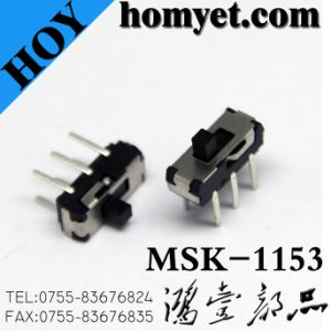 Manufacturer Toggle Switch/Slide Switch with 6pin (MSK-1153) pictures & photos