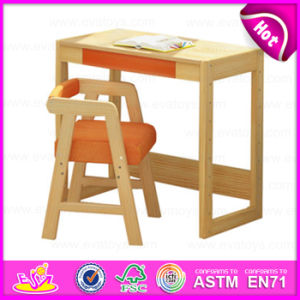 2015 Kids Writing Table and Chair, Kids Study Table Chair Set, School Wooden Table and Chair for Kids W08g157b pictures & photos