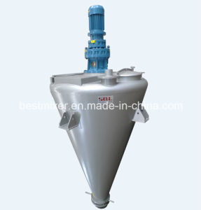 Conical Screw Mixer with Ball Valve pictures & photos