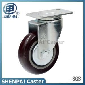 "3"" Nylon Rigid Industrial Caster Wheel pictures & photos"