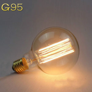 G95 E27 Carbon Filament Bulbs pictures & photos