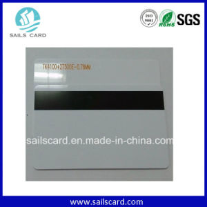 Blank PVC Hotel Magnetic Strip Card Without Printing pictures & photos
