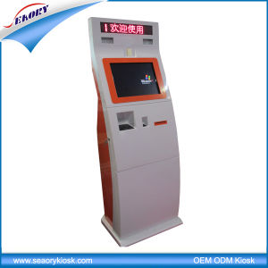 17 Inch Touch Screen Vertical Face Recognition Self-Service Kiosk pictures & photos