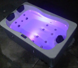 Monalisa Portable Outdoor Whirlpool SPA Hot Tub with Jacuzzi M-3374 pictures & photos