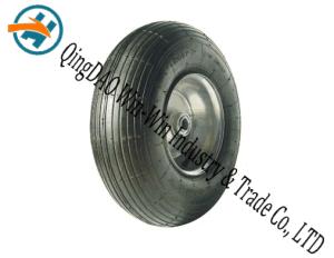 "13""X4.00-6rubberwheel Pr1855 Pneumatic Rubber Wheel Steel Wheels pictures & photos"