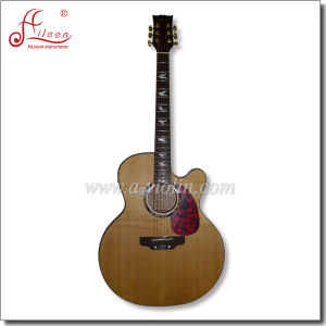 "42"" Cutaway Electric Acoustic Guitar with EQ pictures & photos"