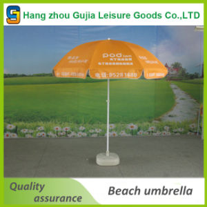 Factory Waterproof Fold Sun Protection Outdoor Swimming Pool Umbrella pictures & photos