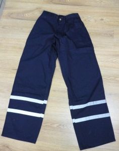 Navy Blue Refelctive Pants with 3mxq25 Tape pictures & photos