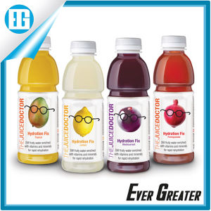 China Wholesale Waterproof PVC Packaging Juice Fruit Bottle Label ...