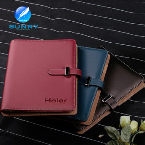Leather Diary Notebook with Classic Design (XL-21007) pictures & photos