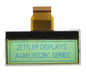 LCD Cog Display, 128X32 Dots Graphic LCD: Aqm1232bc Series pictures & photos