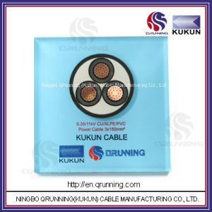 6.35/11kv Cu/XLPE/PVC (or PE) Power Cable