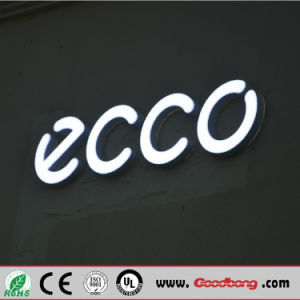 Custom Hight Quanlity Wall Mounted Alloy Daytime Lighting LED Illuminated Letter Signs pictures & photos