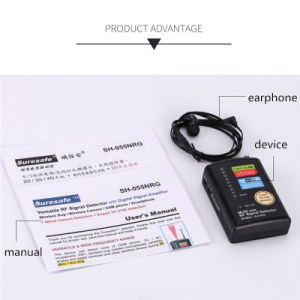 Multi-Use with Digital Signal Amplifier Camera Phone GSM GPS Bug Detector 2g/3G/4G GPS Tracker Anti Eavesdropping Anti-Spy Anti-Tracking Security Systems pictures & photos