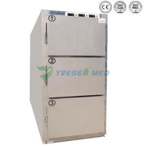 Ysstg0102 Medical 2 Doors Corpse Mortuary Freezer Casket pictures & photos